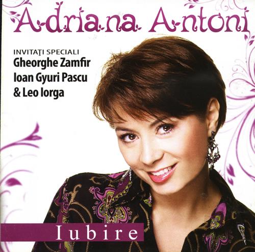 Adriana Antoni (2014) - Album iubire