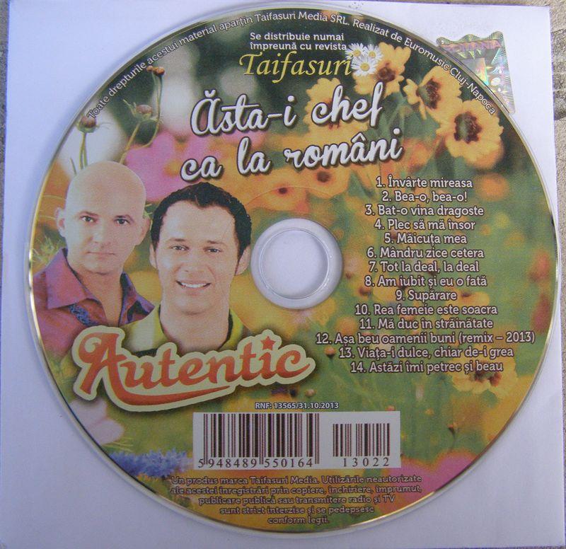 Autentic (2013) - Astai chef ca la romani [Album]