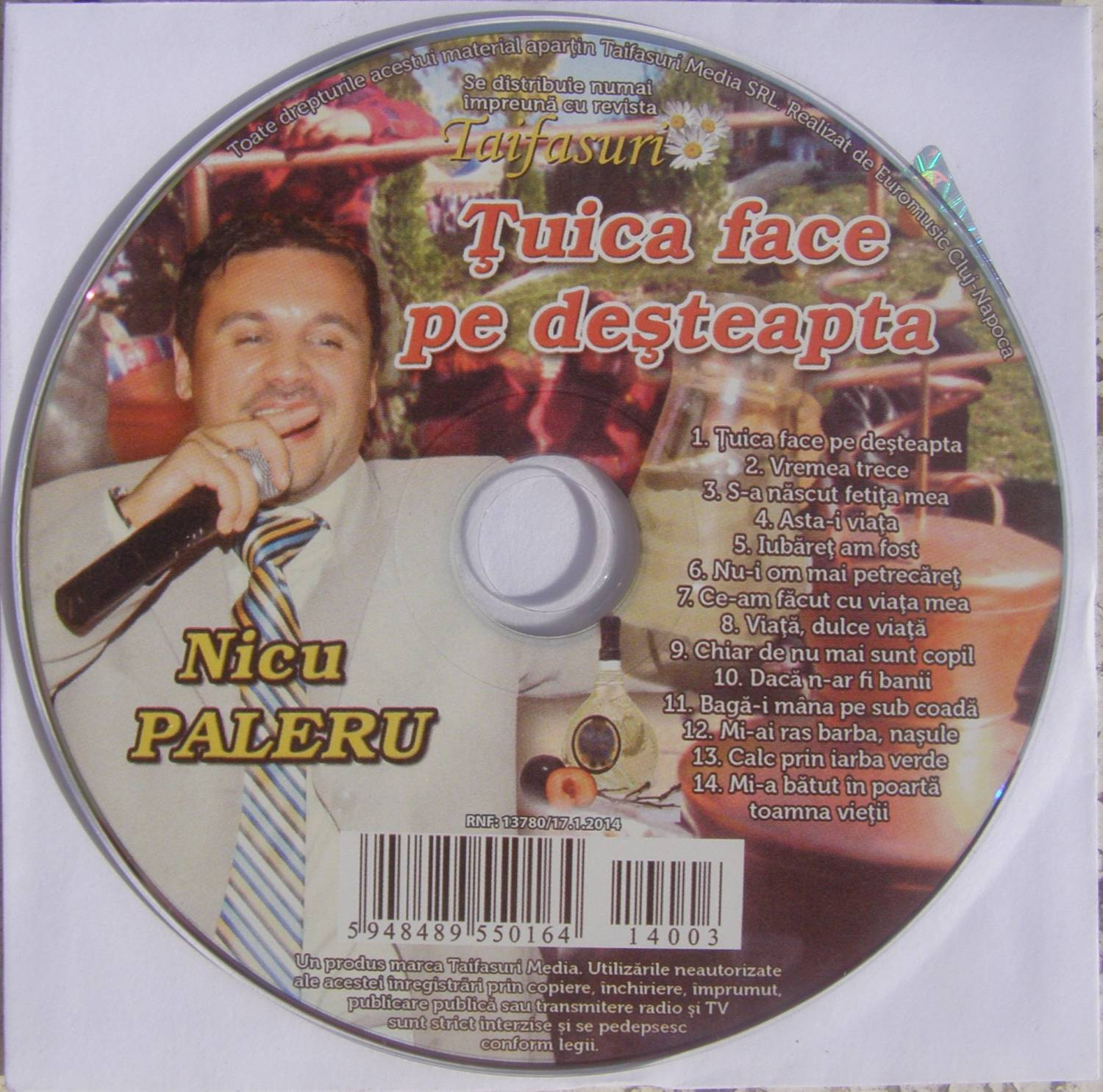 Descarca Nicu Paleru (2014) - Tuica face pe desteapta [Album]