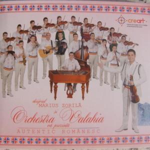 Orchestra Valahia & Marius Zorila (2014) - Autentic romanesc [Album]