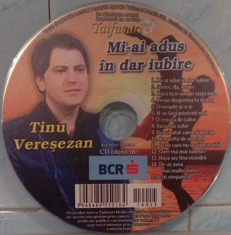 Tinu Veresezan (2014) - Mi-ai adus in dar iubire [Album]