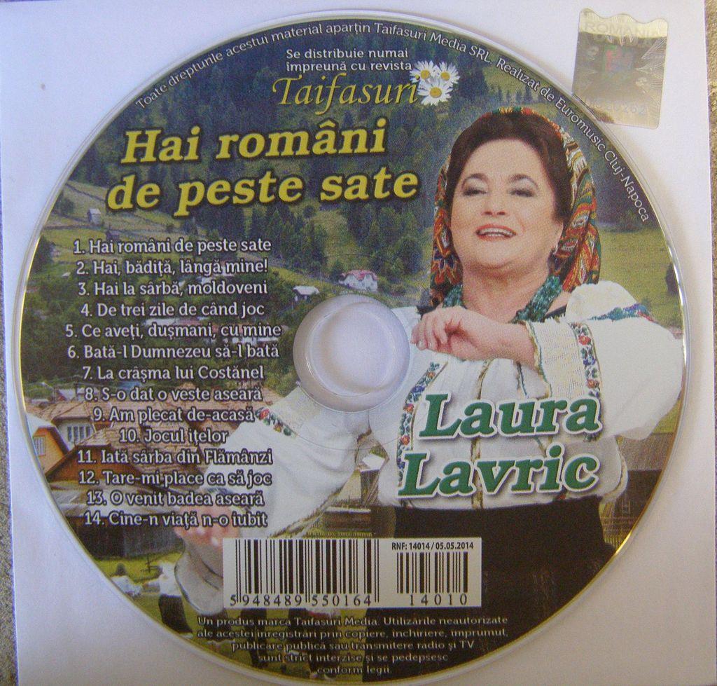 Laura Lavric (2014) - Hai romani de peste sate [Album]