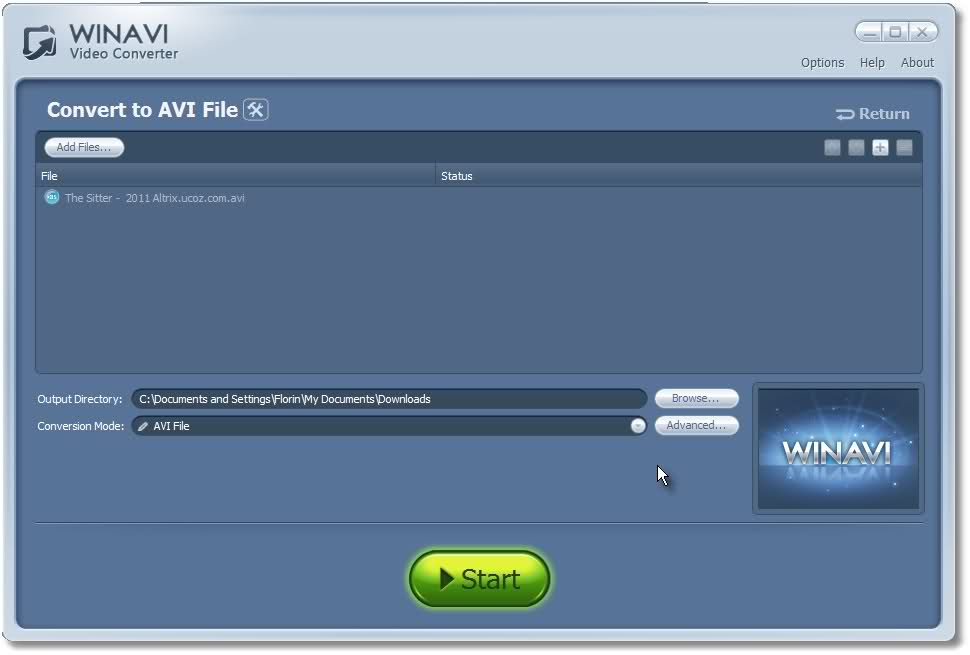 Descarca WinAVI Video Converter